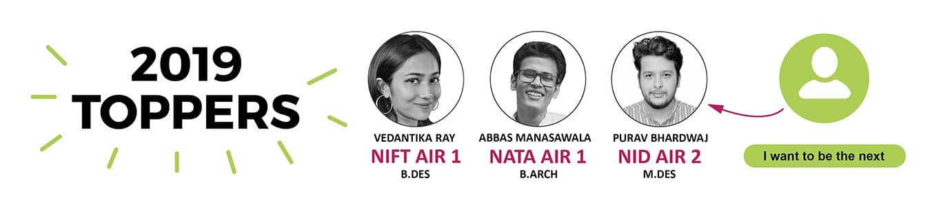 NID/NIFT toppers 2018 From SILICA