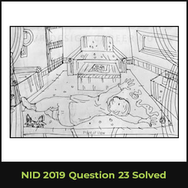 NID 2019 Question 23 Solved