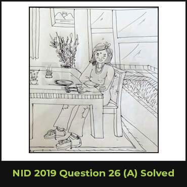 NID 2019 Question 26(A) Solved