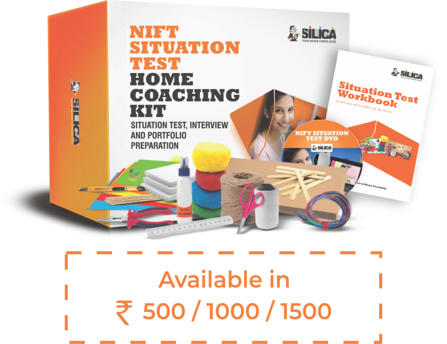 NIFT Situation Test 2019 - Home Coaching Kit SILICA