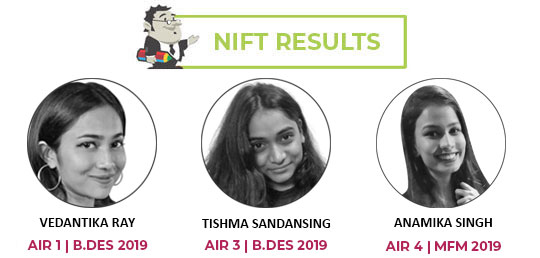NIFT Toppers 2018